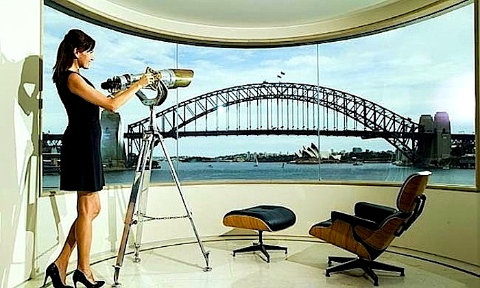 Daily Telegraph reports Luxe Houses views $40,000 a week a drop in the harbour.