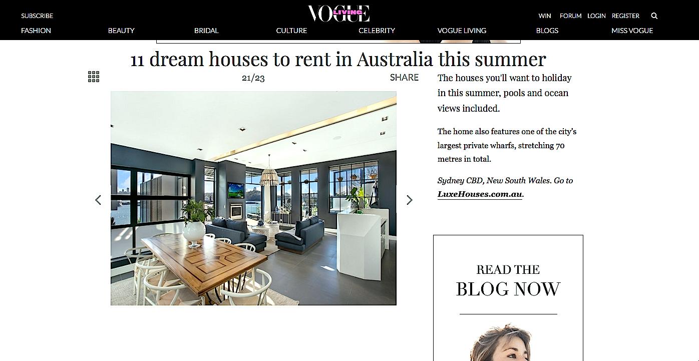 Top Dream Houses to rent this Summer Killcare Beach House, The Wharf Birchgrove