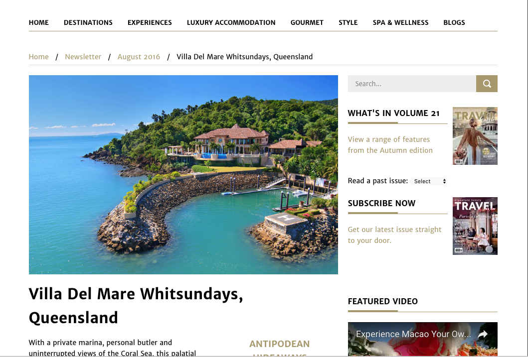 Villa Del Mare Whitsundays Queensland