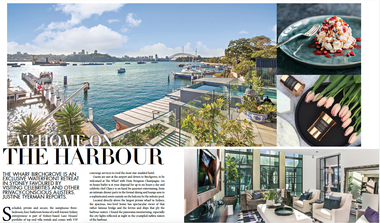The Wharf Birchgrove inside World Magazine